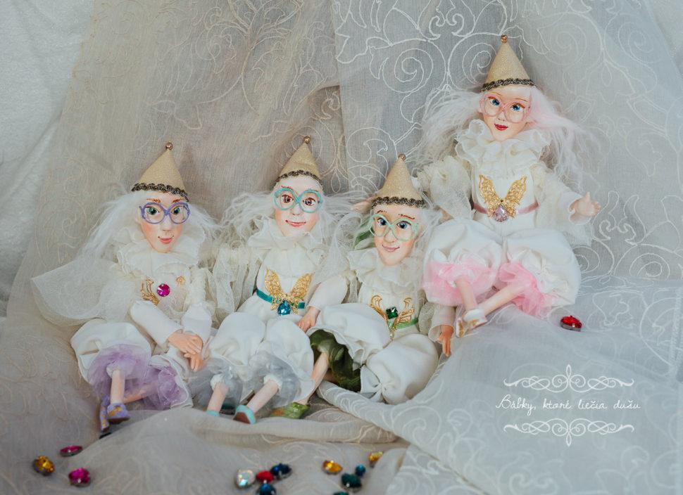 originálne bábky