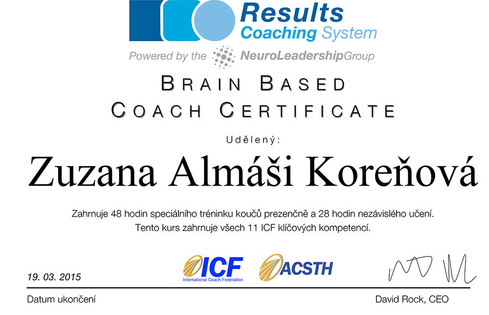 Coach zuzana almasi korenova
